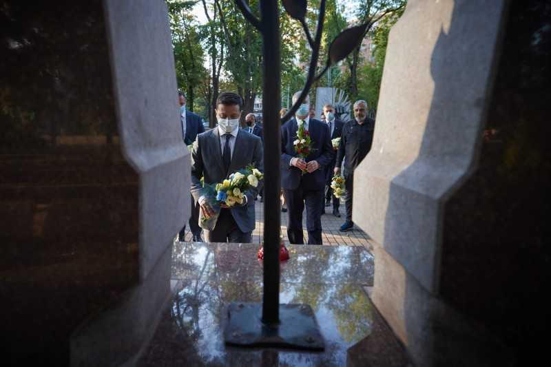 В Кривом Роге Президент встретился с ветеранами АТО/ООС и матерями погибших и пропавших без вести украинских защитников