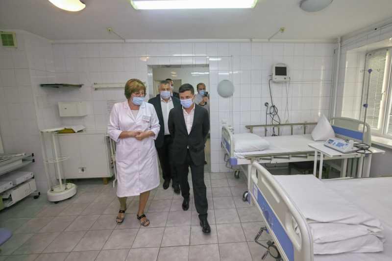 Запорожский госпиталь для ветеранов войны должен работать – Президент