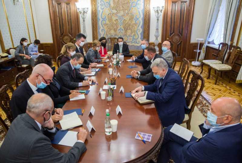 Андрей Ермак на встрече с послами стран G7: Ваша поддержка очень важна