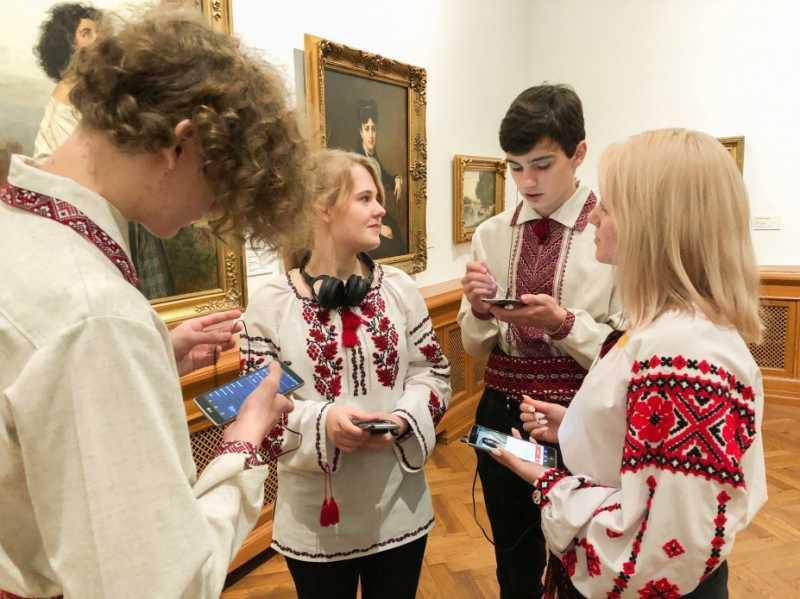 Аудиогид на украинском языке заработал в Латвийском национальном художественном музее