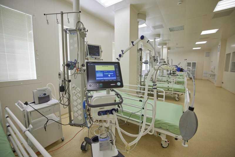 «Большое строительство»: Президент осмотрел реконструированный корпус Полтавского областного клинического кардиодиспансера