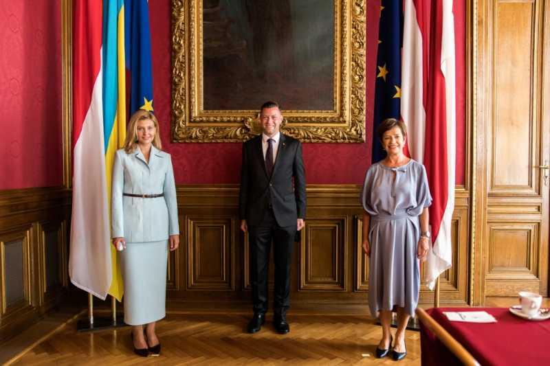 Елена Зеленская обсудила с представителями магистрата и земельного парламента Вены их опыт в создании равных возможностей для всех граждан