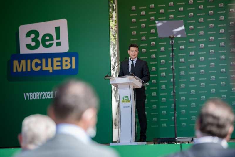 Грядущие местные выборы являются сверхважными, потому что благодаря децентрализации регионы получают значительные полномочия и финансирование – Президент на представлении Стратегии развития Одесской области