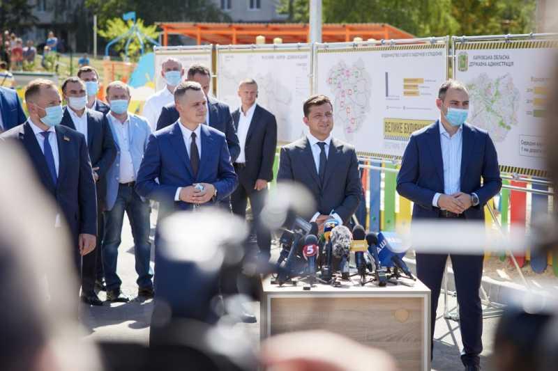 Харьковщина опережает большинство областей по темпам сдачи объектов в рамках «Большого строительства» – Президент