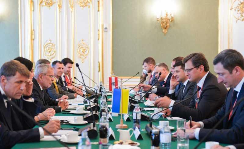 Мы относимся к каждому инвестору, как к жемчужине – Владимир Зеленский на переговорах с Федеральным президентом Республики Австрия