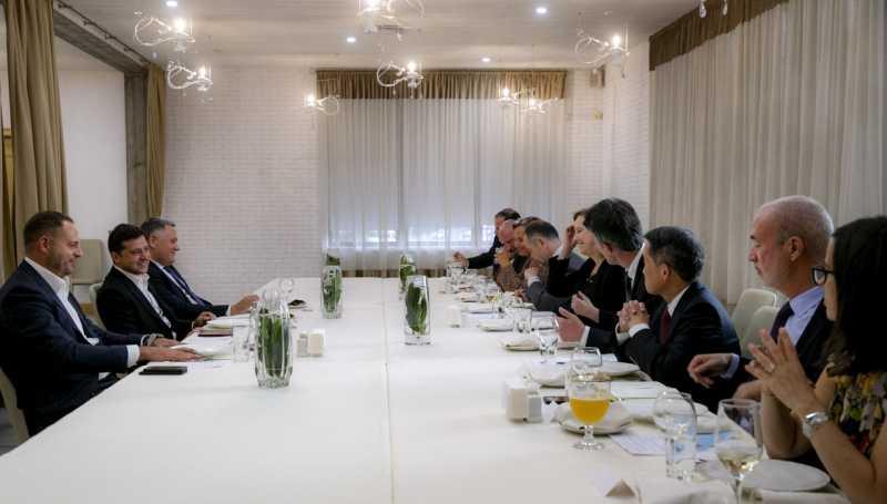 Поддержка ваших государств и ЕС важна для Украины – Президент на встрече с послами стран G7 и Евросоюза