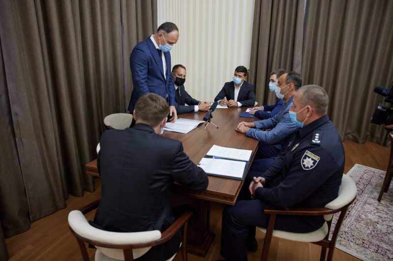 Президент дал две недели правоохранителям Львовщины, чтобы показать результат в борьбе с преступностью