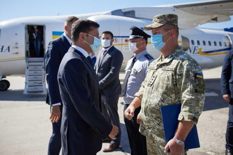 Президент начал рабочую поездку на Полтавщину