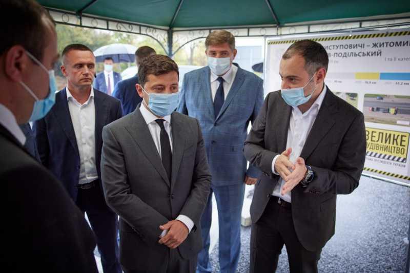 Президент начал рабочую поездку на Виннитчину