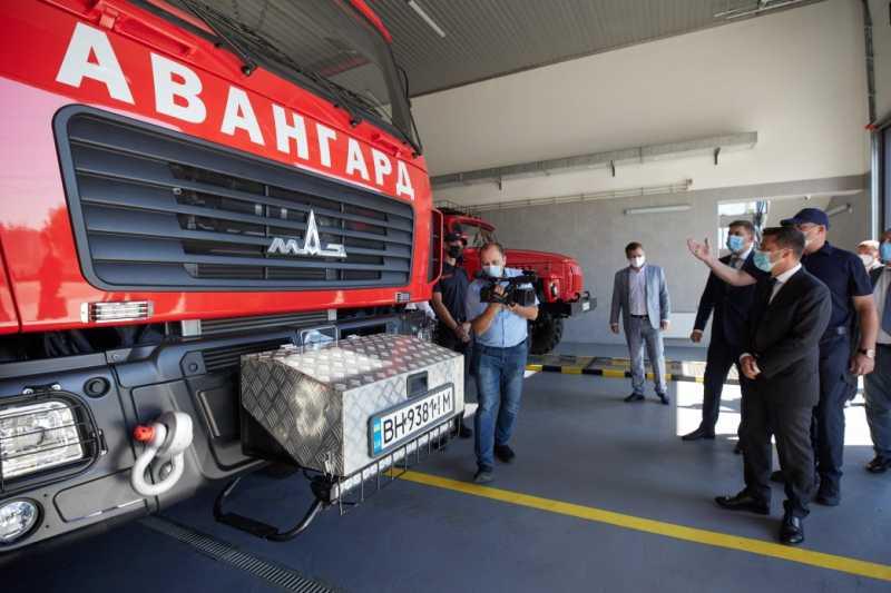 Президент осмотрел Центр безопасности граждан на Одесчине