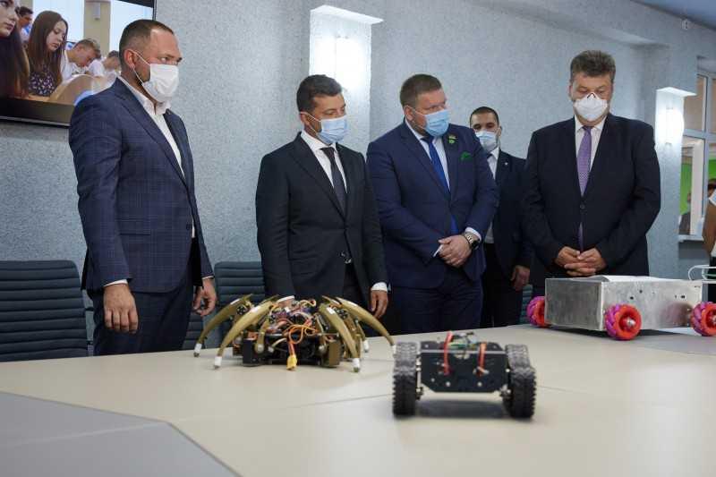 Президент посетил «Житомирскую политехнику»