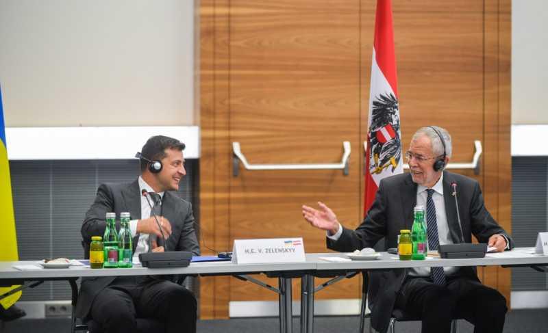 Президент Украины и Федеральный президент Республики Австрия приняли участие в украинско-австрийском бизнес-форуме