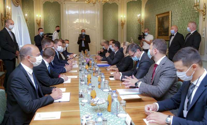 Президент Украины встретился с Премьер-министром Словацкой Республики Игорем Матовичем