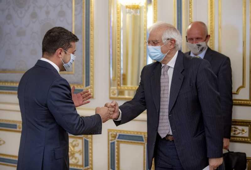 Президент Украины встретился с Высоким представителем ЕС по иностранным делам и политике безопасности