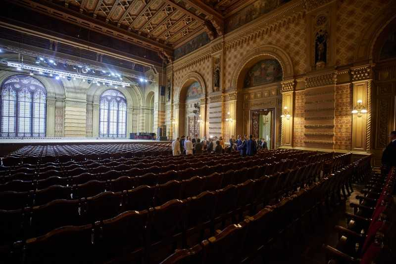 Реконструкция Одесской филармонии будет внесена в «Большое строительство» в культуре на следующий год – Президент