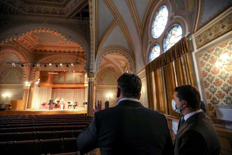 Ремонт Закарпатской филармонии будет включен в «Большое строительство» в культуре – Президент