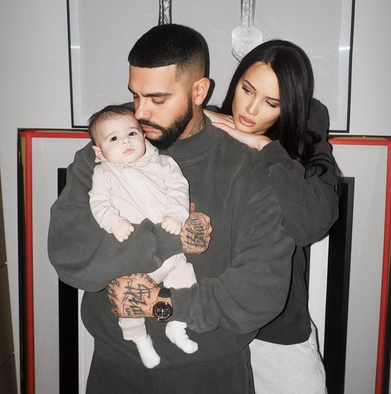 Тимати и Анастасия Решетова с сыном
