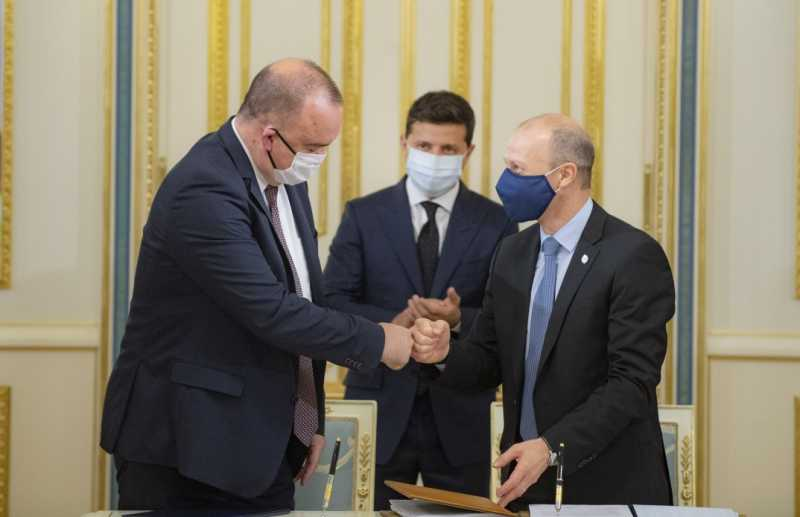 У присутності Президента підписано контракт на продовження постачання ядерного палива для Рівненської АЕС
