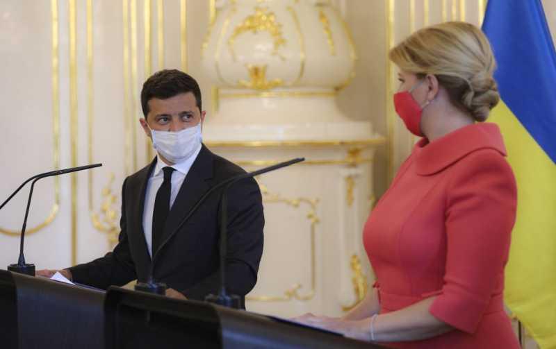 У Украины и Словакии есть все предпосылки для вывода отношений на качественно новый уровень – Владимир Зеленский по результатам встречи с Зузаной Чапутовой