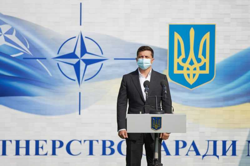 Украина хочет мира на востоке и делает для этого все от нее зависящее – Президент на открытии учений Rapid Trident – 2020