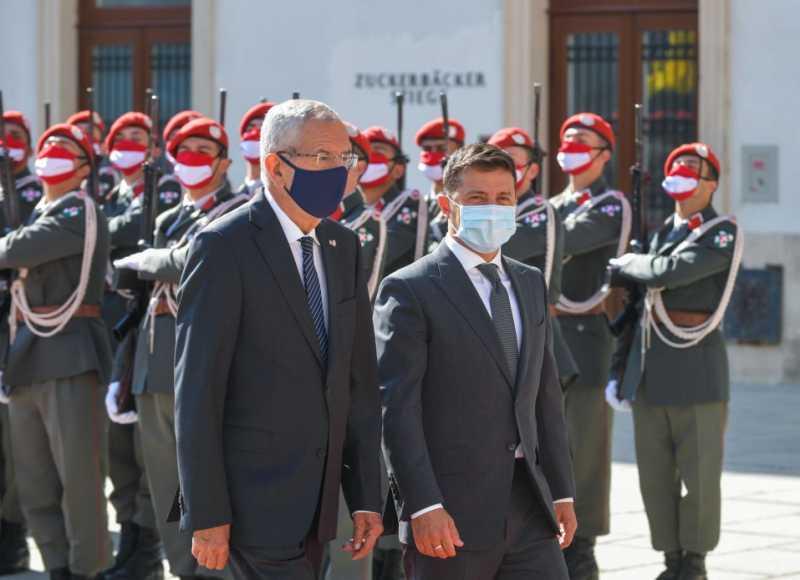 В Вене началась встреча Президента Украины и Федерального президента Австрии