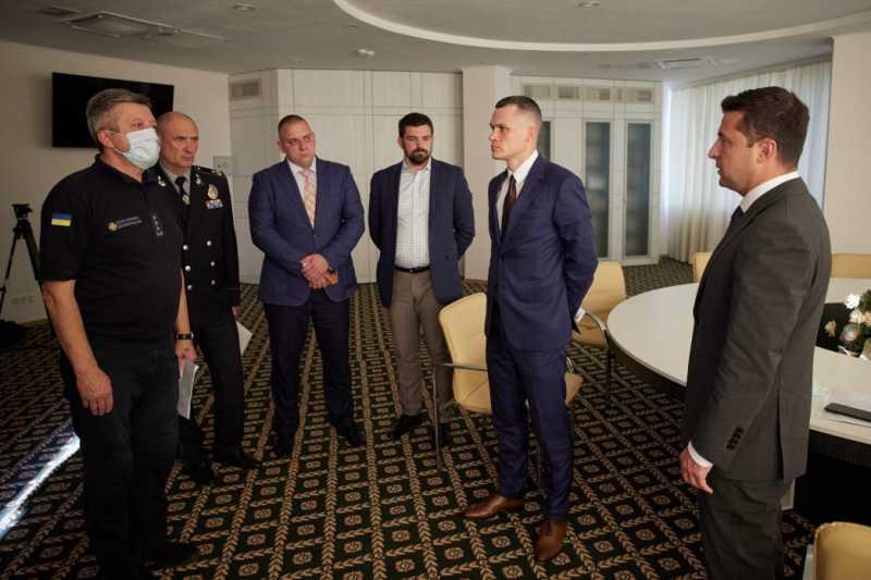Верим, что удастся преодолеть стихию – Президент о лесных пожарах на Харьковщине и Луганщине