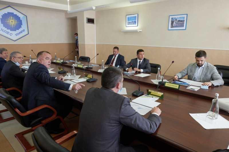 Владимир Зеленский по результатам совещания на ХАЭС: Мы все заинтересованы в украинской атомной энергетике