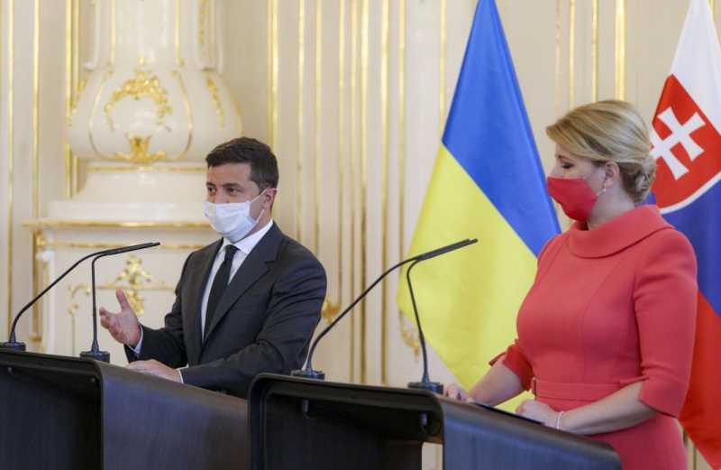 Владимир Зеленский: Украина и Словакия понимают риски, которые несет проект «Северный поток – 2»