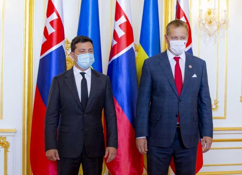 Владимир Зеленский встретился с Председателем Национального совета Словацкой Республики