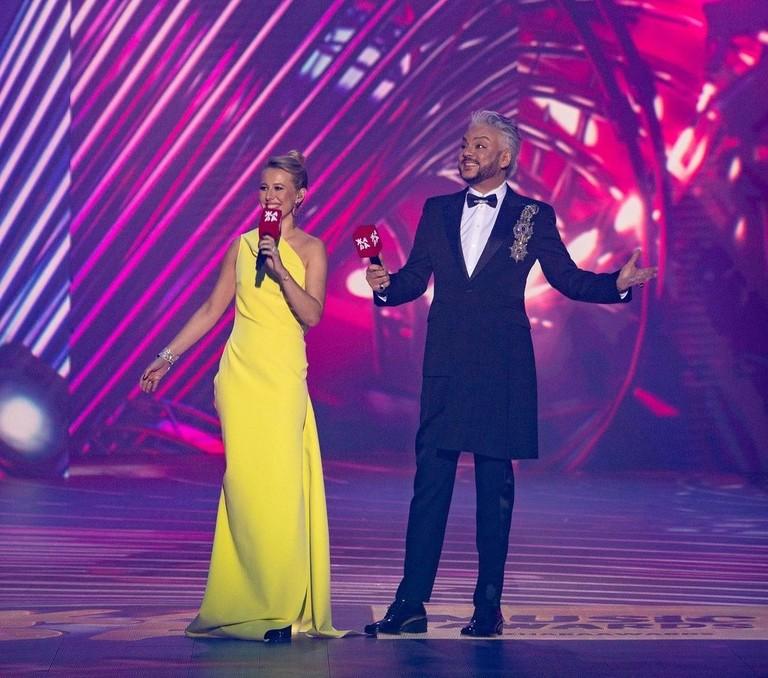 Ксения Собчак и Филипп Киркоров