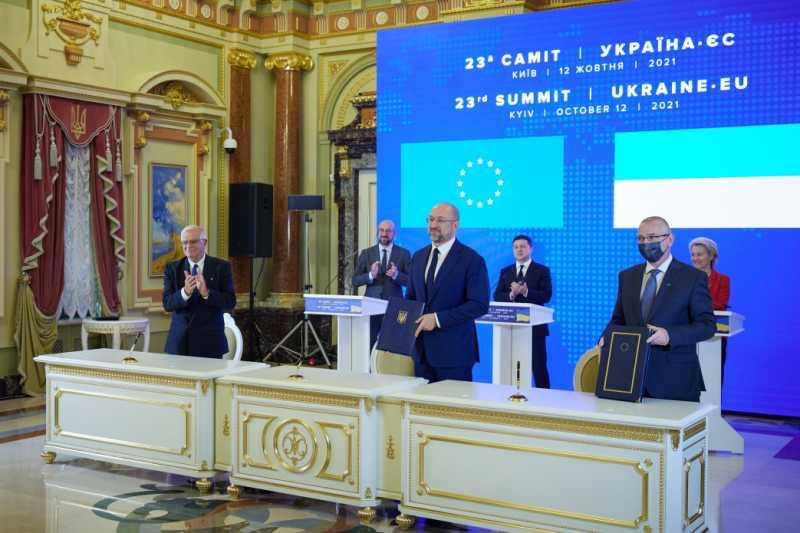 В рамках 23-го Саммита Украина – ЕС подписан ряд документов, в частности Соглашение об Общем авиационном пространстве